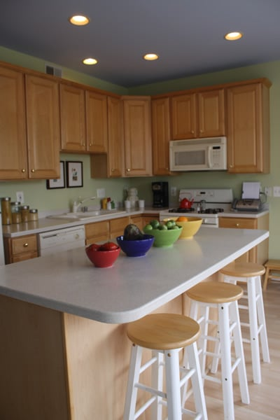 Kitchen remodeling services provided by A House Doctor in Calhoun County